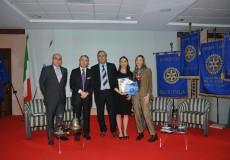 I Rotary Club consegnano una borsa di studio di 24 mila euro
