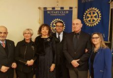 IL GENERALE BERTOLINI OSPITE ALL'INTERCLUB