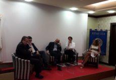 Incontro con il nuovo Direttore dei Teatri Paolo Cantù ed il Direttore Generale di Aterballetto Luigi Cristoforetti. 19 luglio