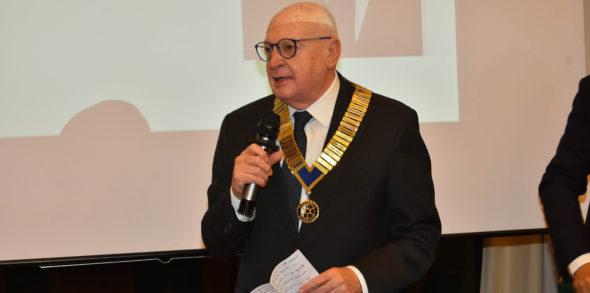 Riccardo Zucchetti è il nuovo presidente del Rotary Club Reggio Emilia