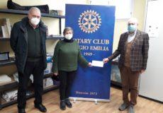 Il Rotary Reggio Emilia dona 1000 euro all'AUSER